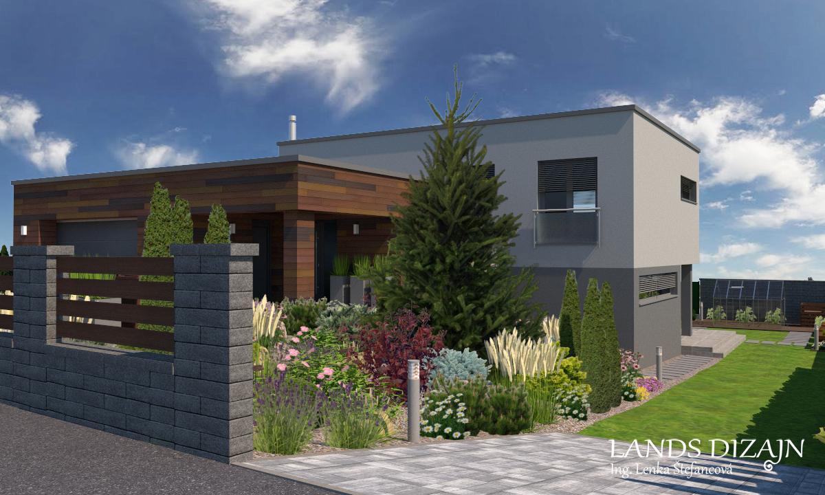 Návrh modernej záhrady. - Obrázok č. 7
