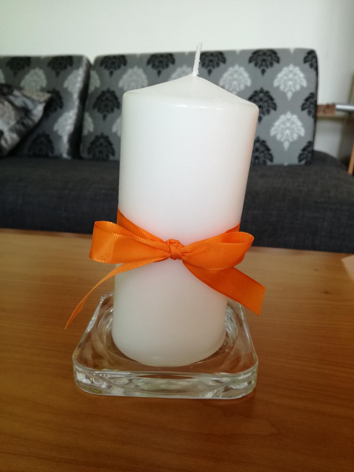Svíčky + podtácky - Obrázek č. 1