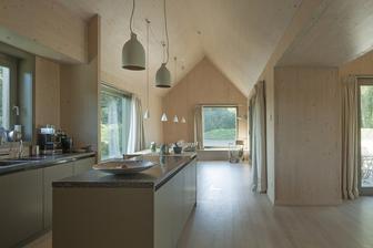 toto není mini dům, ale velmi se mi líbí ty stěny a strop, to je můj šálek kávy