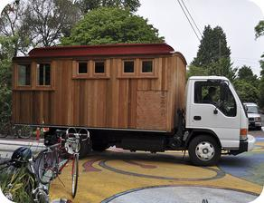pojízdný domek