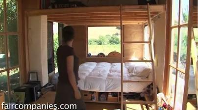 nebo do patra vyhodím manžela pracovat a spát se bude dole :-)