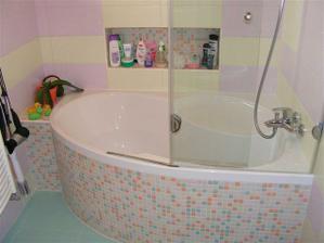 vana byl velkej boj s manželem, chtěl sprchu, ale jsem šťastná že jsem vyhrala :-)