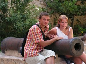 naše první společná dovolená - Tunis 2006