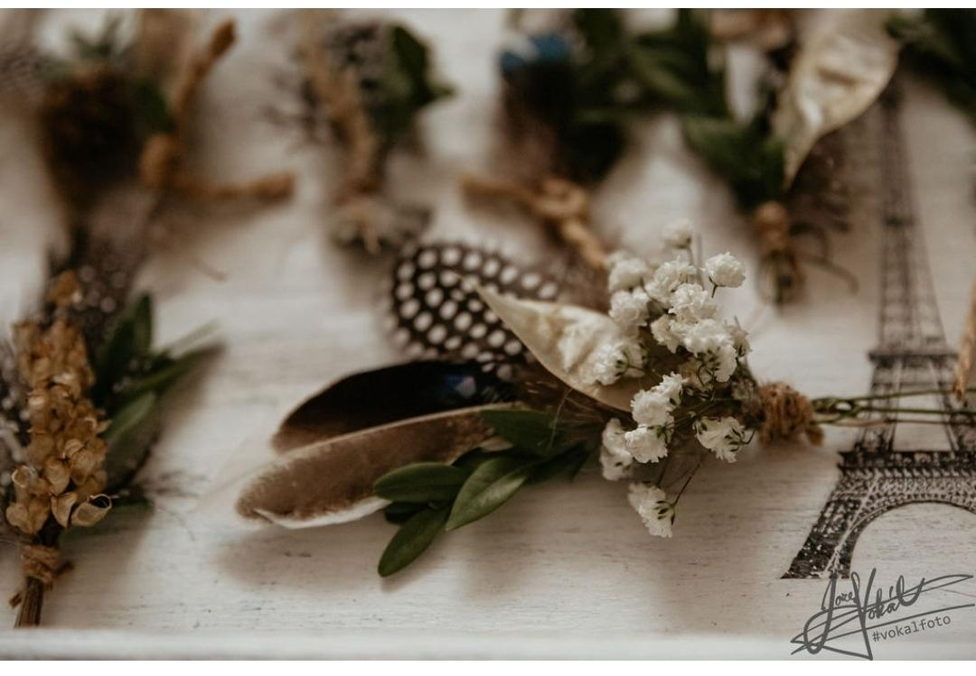 Netradičné svadobné pierka - Obrázok č. 1