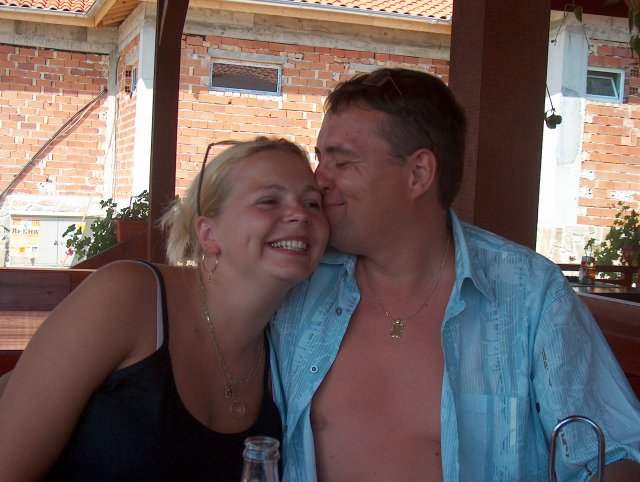 Alžbeta a Stanislav - pusinka :)