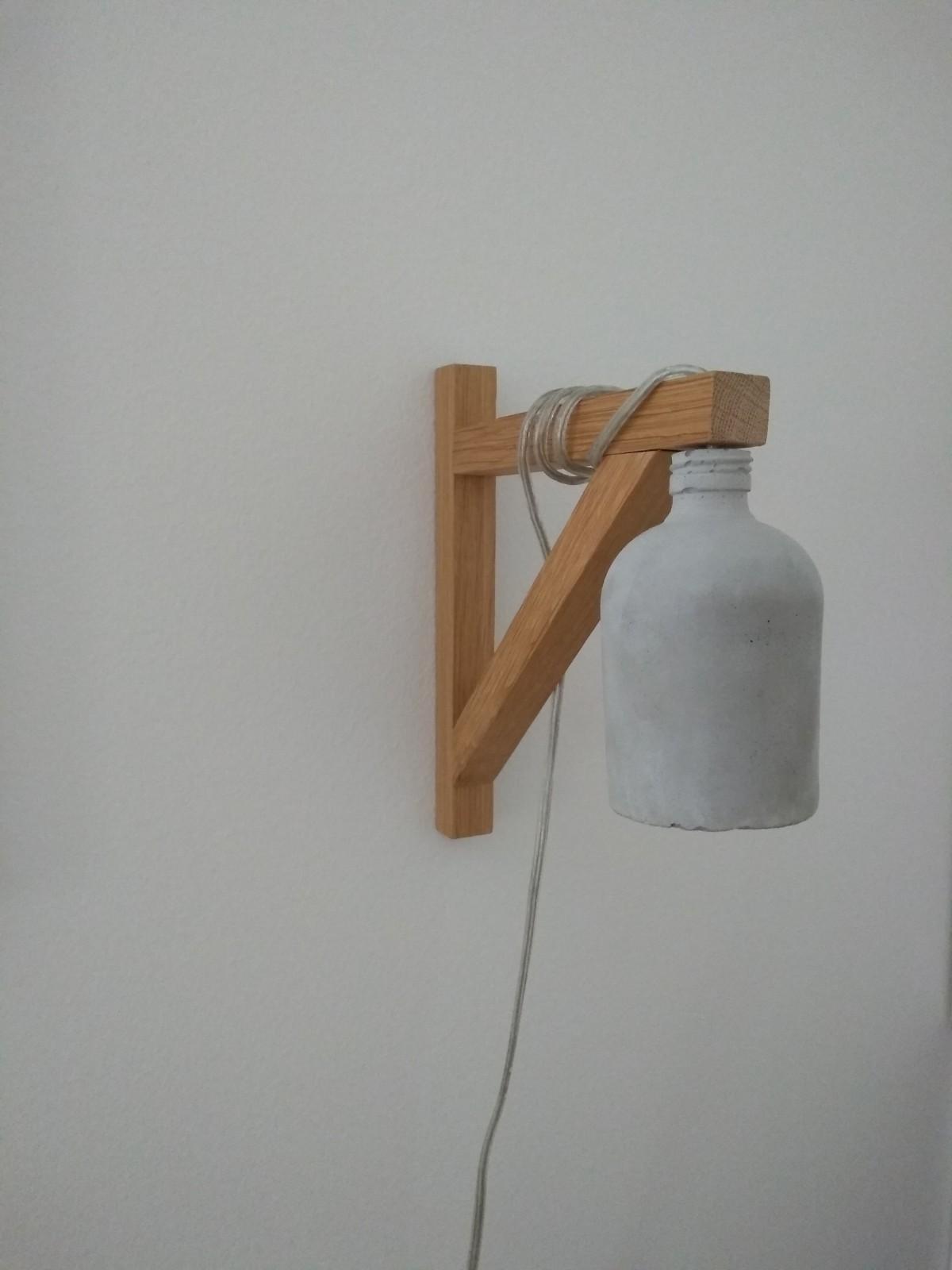 Nástenné svietidlo hand-made zo Sashe.sk - Obrázok č. 1