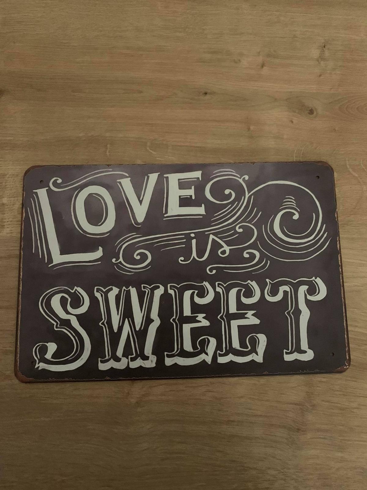 Nápis sweet - Obrázek č. 1