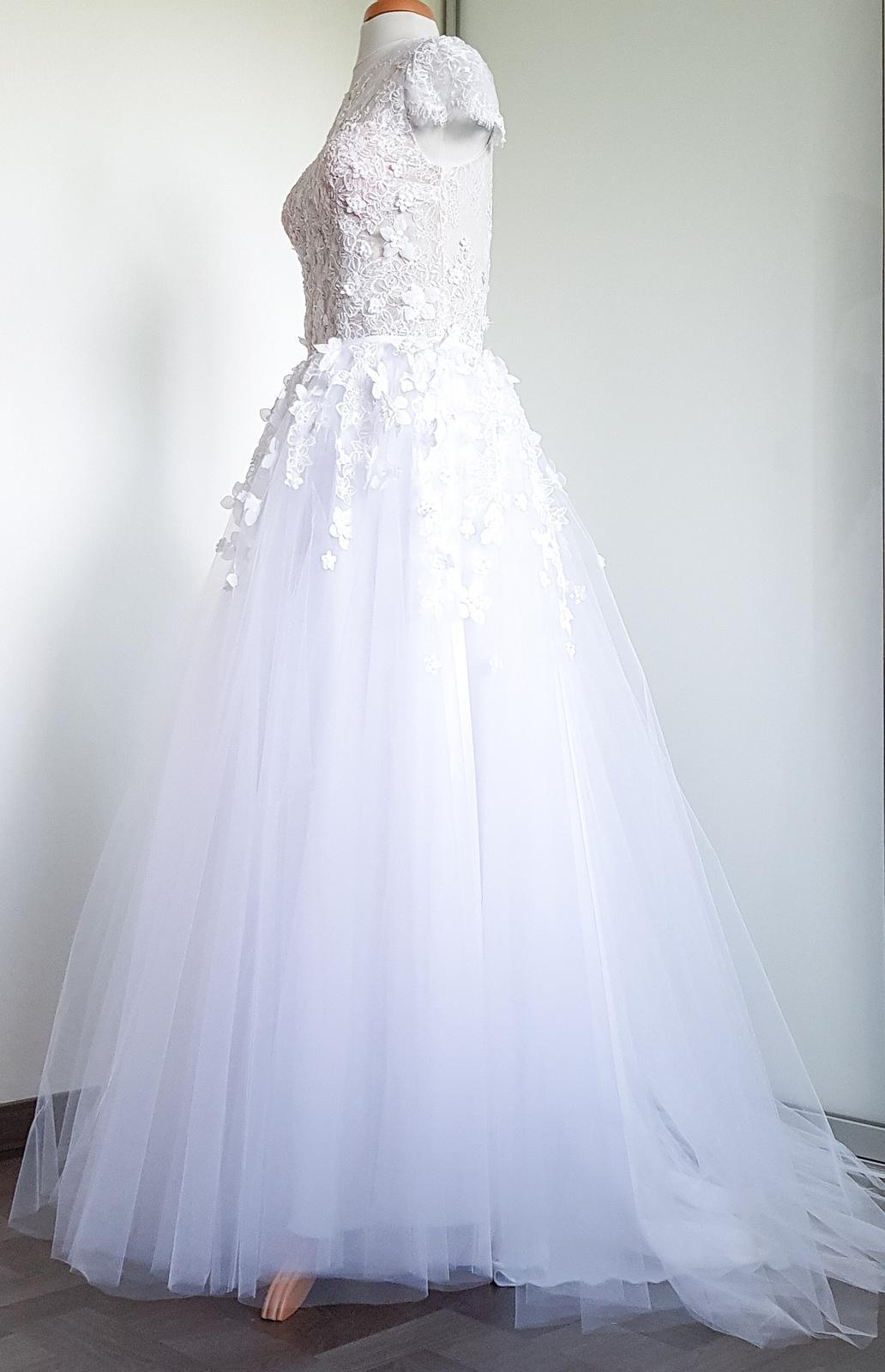 Nenošené svatební body a sukně - Obrázek č. 1