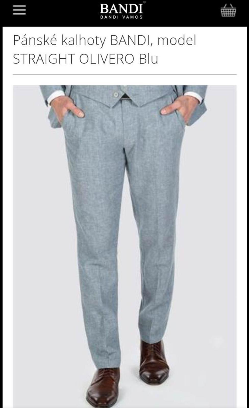 Pánské kalhoty BANDI - Obrázek č. 1
