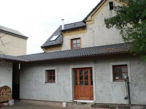 Dům zezadu - přístavba