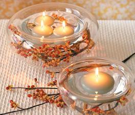 Na stôl voňavé sviečky