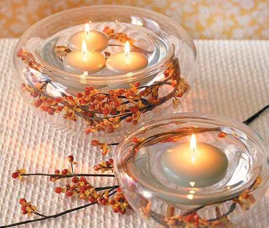 Jesenná svadba 🍁 - Svietničky...