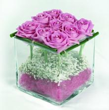 další možnost netradiční květinové výzdoby
