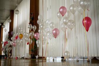 Balóniky nesmú chýbať