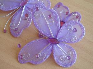 motýliky na výzdobu