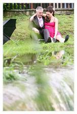odpočinek u potoka