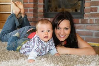 s mamčou (6.měsíců)
