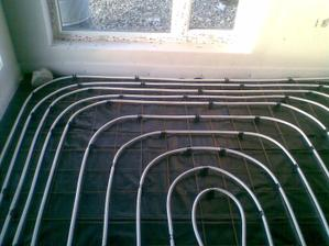 podlahové kúrenie hotové