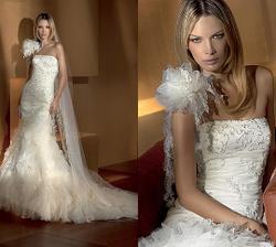 šatičky pro nevěstu.. jedině tyhle :-) bez kytky na rameni