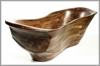 dřevěná vana. Cena 729 900 bez DPH