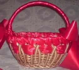 košíček na redovy... vlastnoručne dozdobený...
