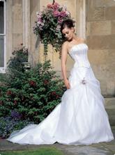 zajímavé svatební šaty