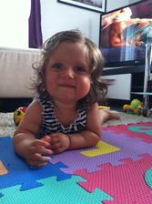Naše vlasatá princeznička :)