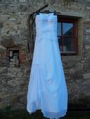 Bílé svatební šaty, vel. 40 - 44, 42