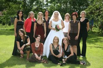 A další součást babince na svatbě