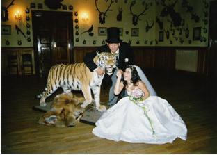 co by to bylo za svatbu bez našeho domácího mazlíčka?? Museli jsme ho prostě vzít s sebou ;-)