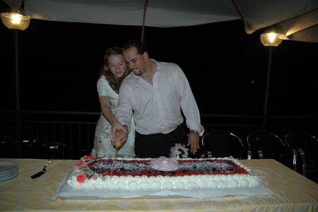 Kveta{{_AND_}}Alan - krajeni dortu