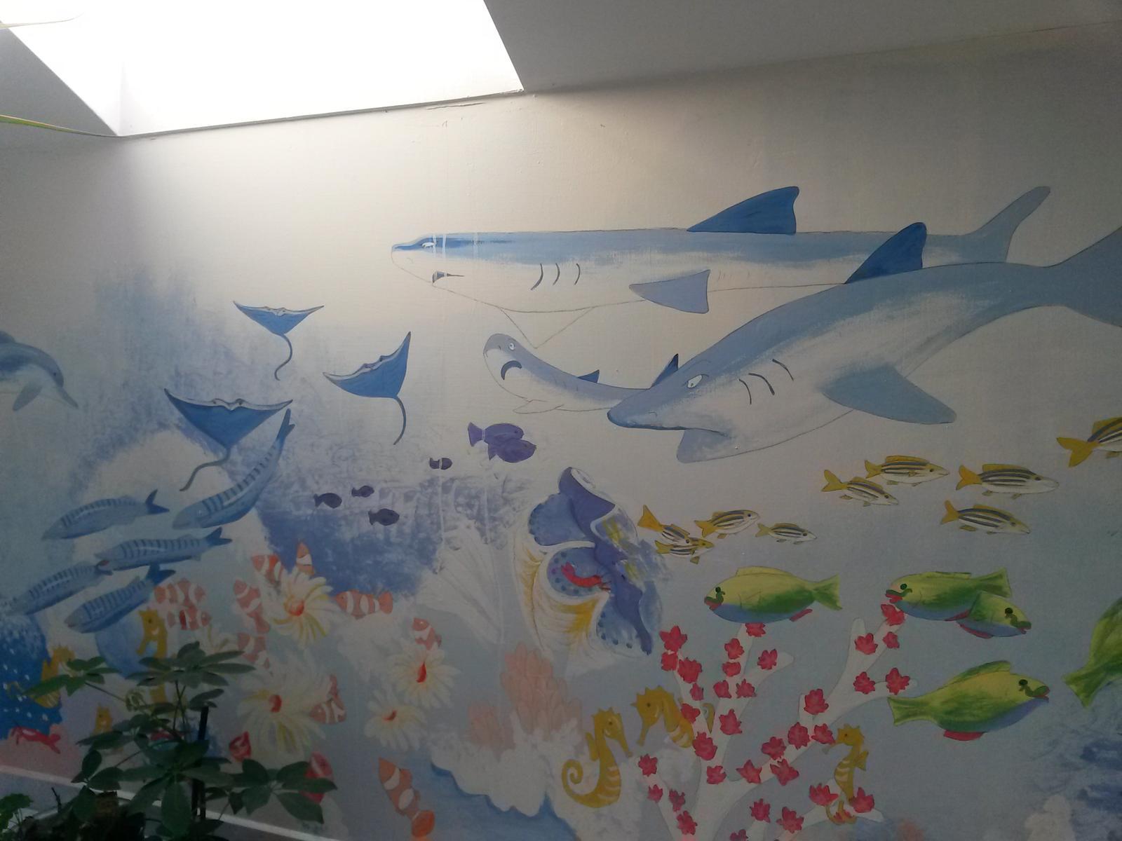 Malovanie na stenu a vsade kde sa da ;) - Obrázok č. 1