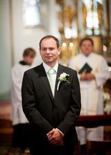 Poprvé mě vidí, byl to krásný pocit, všem doporučuju být utajená nevěsta