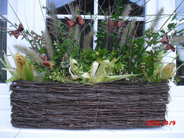 Zahrada a okolí - podzimní truhlíky :-)