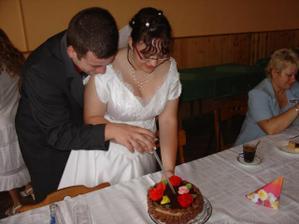 krajeni dortu od babicky