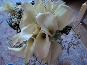 Moje svatební kytička :)