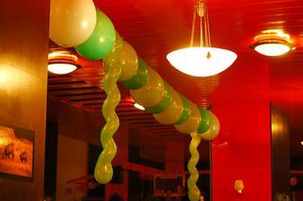 baloniky na odputanie pozornosti od oranzovych stlpov a na neskorsiu zabavu :D