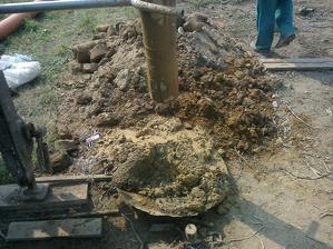 Konečne voda v 17 metroch :-)