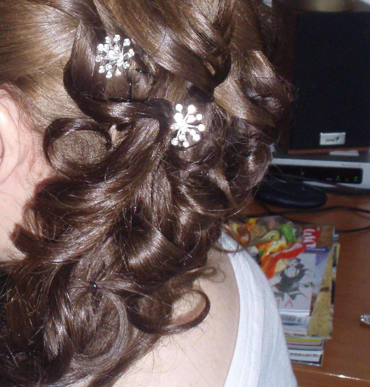 Ozdobné sponky do vlasov - Obrázok č. 1