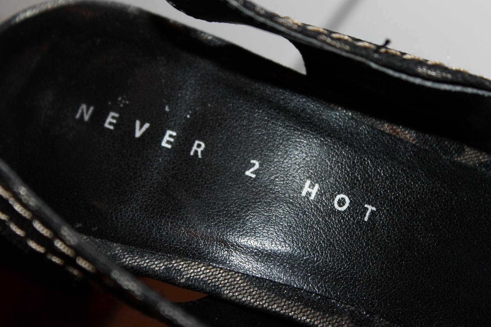 Elegantné a extravagantne sandále - Obrázok č. 3