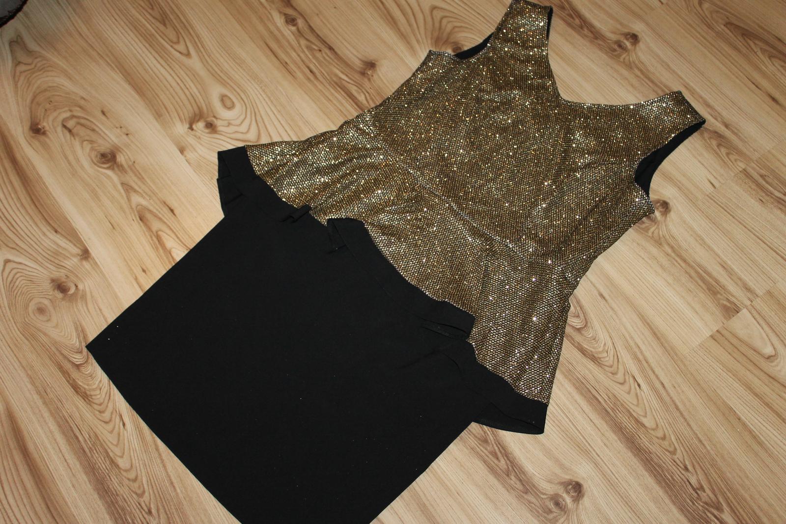 Luxusné spoločenské šaty pre moletku - Obrázok č. 1