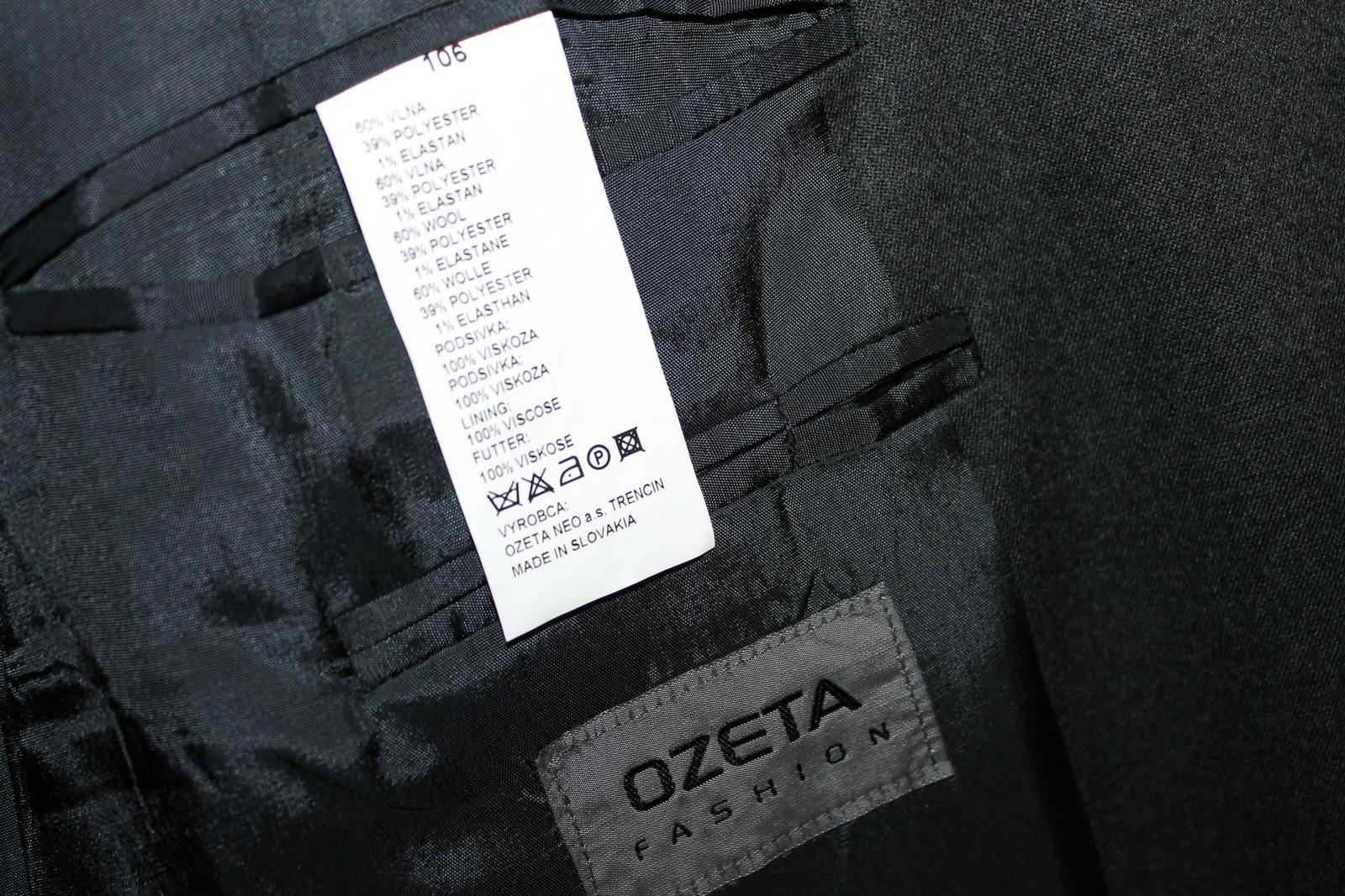 Vysoko elegantný oblek Ozeta Fashion - Obrázok č. 3