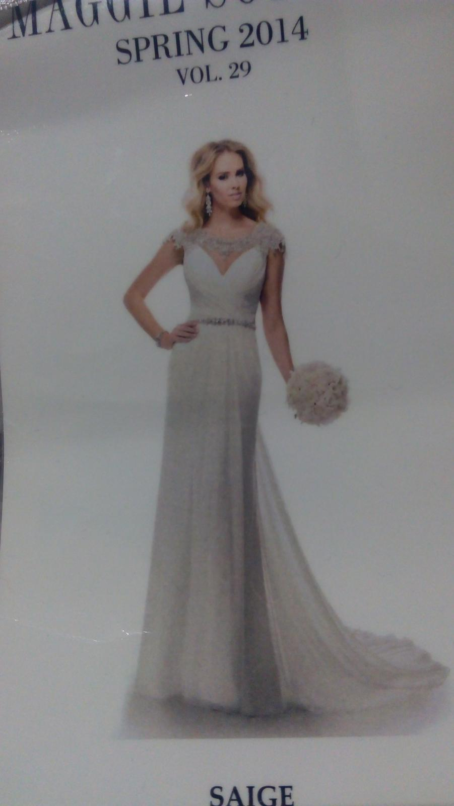 Luxusné šaty zn. Maggie Sottero - Obrázok č. 3