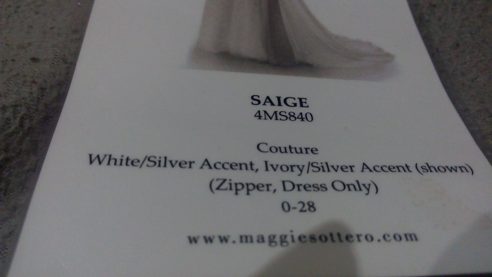 Luxusné šaty zn. Maggie Sottero - Obrázok č. 4