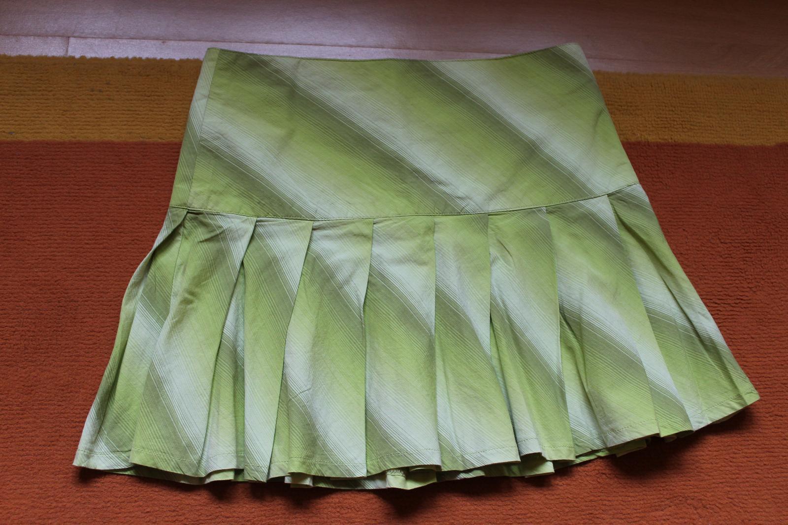 Skladaná suknička - Obrázok č. 1