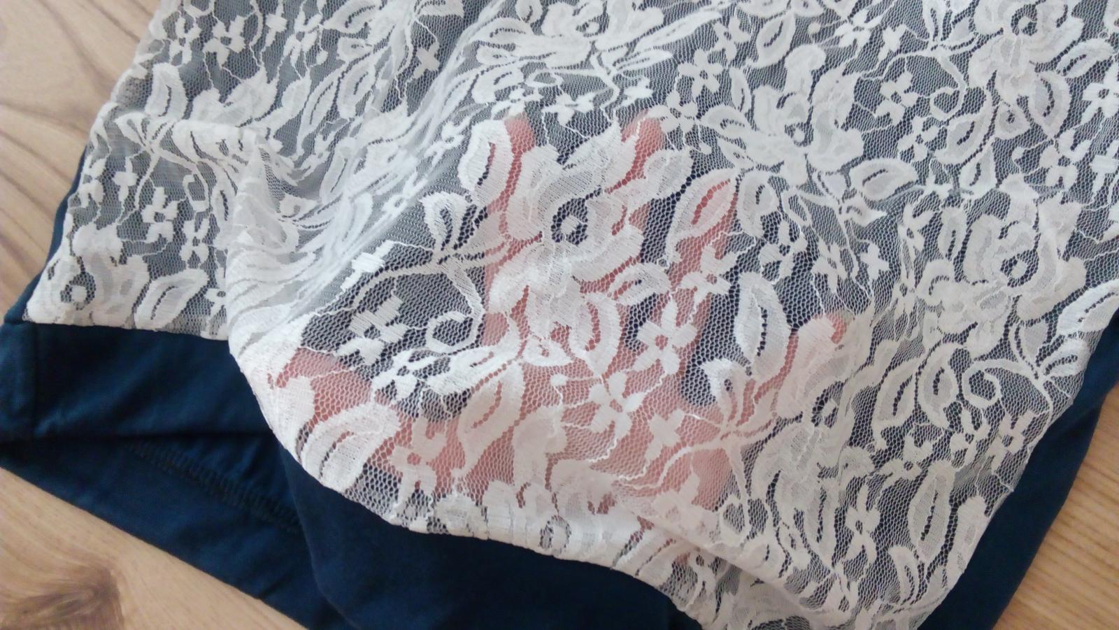 Tričko s krajkou - Obrázok č. 3