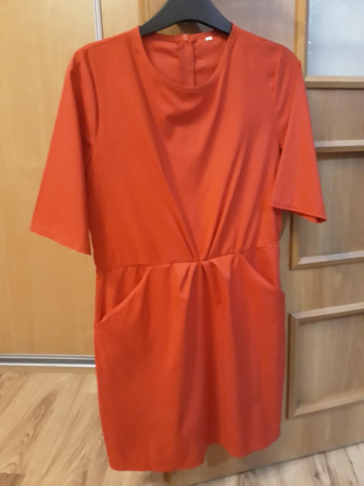 Vzdušné šaty s vreckami  - Obrázok č. 1