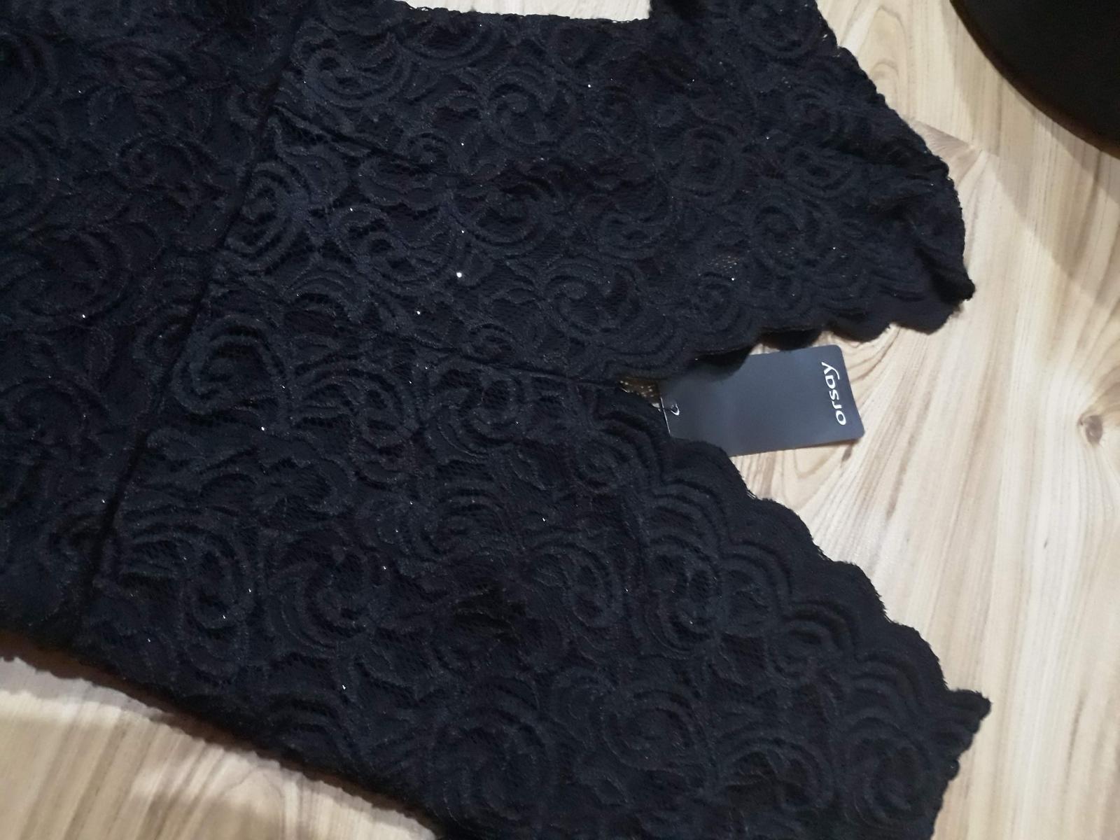 Dlhé čipkované šaty Orsay - Obrázok č. 2