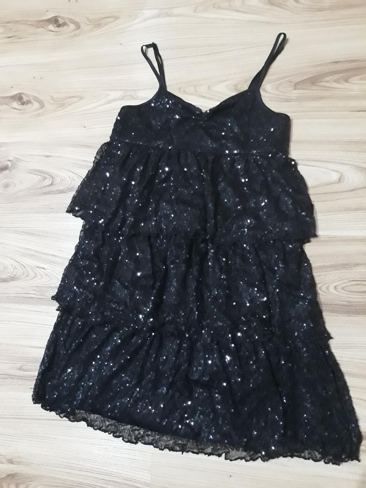 Flitrové šaty - Obrázok č. 1
