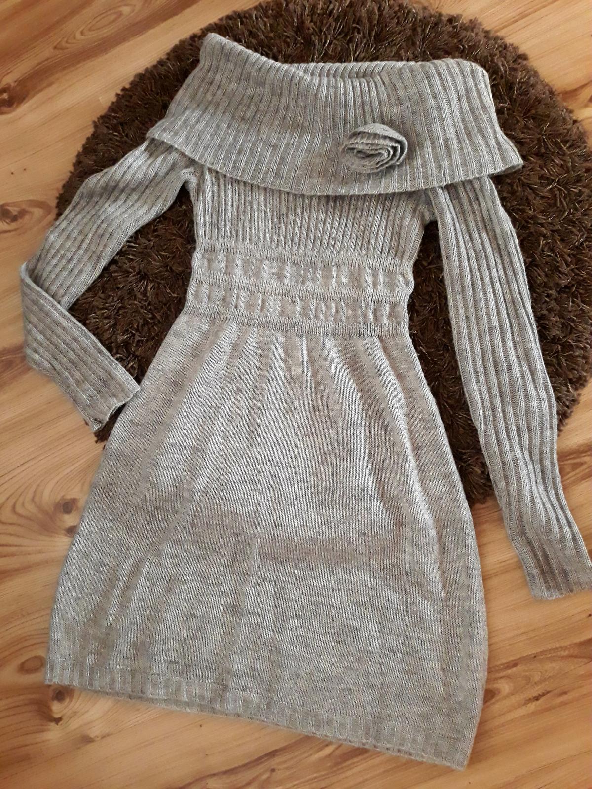 Pletené šaty Oodji - Obrázok č. 1